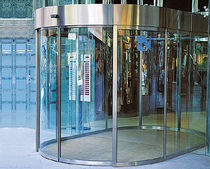 sliding circular automatic door for commercial buildings CS-800 GRUPSA
