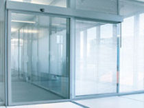 sliding door firewall for commercial buildings  Kaba Gilgen