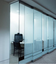 sliding glass panel SMOOTH AS GLASS TOP HUNG SLIDING DOOR SYSTEM doralco