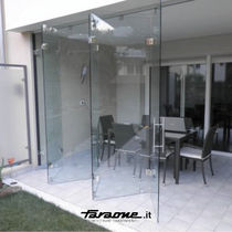 sliding system for door VETRODIVIDE | Parete a ventaglio FARAONE Srl