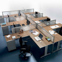 small office partition PRATIKO LIGHT Della Rovere