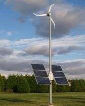 small solar wind turbine SKYSTREAM HYBRID 6 Southwest Windpower