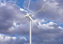 small three-bladed horizontal axis wind turbine EVANCE R9000 Aeolus Power