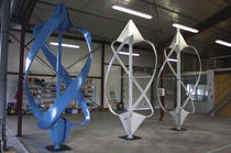 small vertical axis wind turbine NOV'ÉOLIENNE - COLLECTIVE Novel
