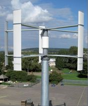 small vertical axis wind turbine (Darrieus rotor) BIG STAR VERTICAL - 20 kW ROPATEC