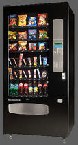 snack vending machine BUDGET 636 WURLITZER