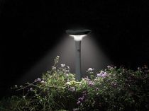 solar bollard light for gardens LAWN BRITE&amp;trade; INTEX