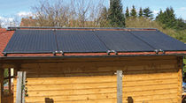 solar heating for swimming pools HELIOPOOL Roth France