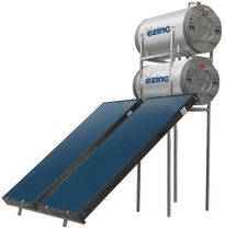 solar thermal collector with integrated storage tank  EZINC