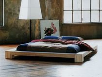 solid wood contemporary tatami double bed ISOLA Cinius