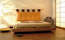 solid wood contemporary tatami double bed LUNA Cinius