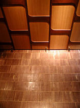 solid wood floor tile (FSC-certified) EW8 AD World