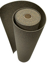 sound absorption underlay (rubber and cork) OBJEKT: PU-CORK B1 EWIFOAM E.WICKLEIN