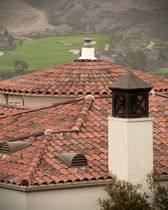spanish clay roof tile 2-PIECE MISSION  US Tile