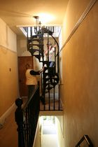 spiral classic staircase (cast iron steps and frame) VT/16/1 Cast Spiral Stairs