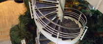 spiral staircase for commercial buildings by Aukett Associates Hubbard