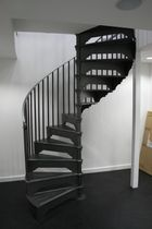 spiral staircase for commercial buildings (metal frame and steps) VM/82/1 Cast Spiral Stairs