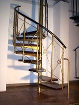 spiral staircase (metal frame and wooden steps) ATRIUM SYSTEM ANTICO Atrium
