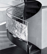 spiral staircase (steel frame and steps) by Luca Calselli ESSEMME