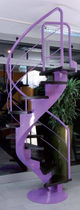 spiral staircase with a central stringer ROSA - SPECIAL New Living srl