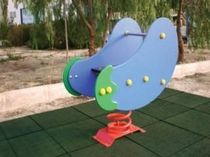 spring toy for playground AUBERGINE VIMALTO