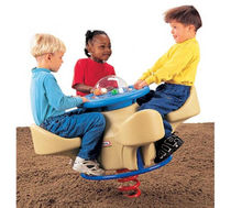 spring toy for playground 4 SEAT TEETER TOTTER BYO Playground, Inc.