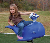 spring toy for playground WALLY THE WHALE BYO Playground, Inc.