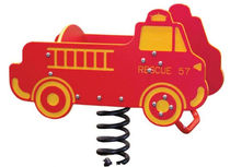 spring toy for playground FIRETRUCK SINGLE RIDER BYO Playground, Inc.
