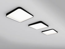 square ceiling mounted fluorescent luminaire (for offices) EDGAR by MaDe DARK AT NIGHT NV