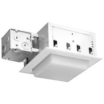 "square halogen downlight (recessed) LITEFRAME : LFF 6"" SQUARE PRESCOLOTE"