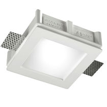 square LED downlight (recessed) LYS BUZZI & BUZZI