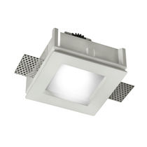 square LED downlight (recessed) BILD BUZZI & BUZZI