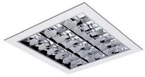 square recessed fluorescent ceiling luminaire ESTUDIO Indalux