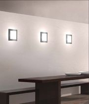 square recessed fluorescent wall luminaire SQUARE GLASS (CW) by Paolo Bistacchi TRE CI LUCE
