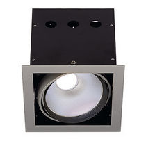 square recessed LED ceiling luminaire AIXLIGHT PRO  SLV BY DECLIC