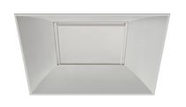 square recessed LED ceiling luminaire S2x2P-3235-WH1 indy