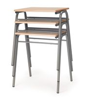 stackable school desk  CROM 2