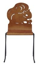stacking chair for school FLICK SQUIRREL TMC Furniture