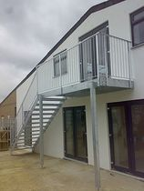 stainless steel balustrade  New Forest Metal Work