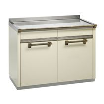 stainless steel counter-top ASCOT: A12S-P STEEL