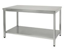 stainless steel counter-top for commercial kitchen CENTRAL TABLE  MAFIROL
