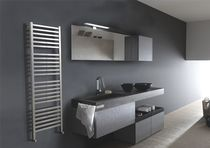 stainless steel design hot water radiator QUADRO EMMESTEEL s.r.l.