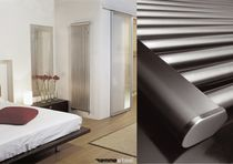 stainless steel design hot water radiator SIRIO VERTICALE EMMESTEEL s.r.l.