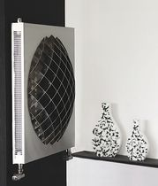 stainless steel design hot water radiator FUSION Carisa Design Radiators