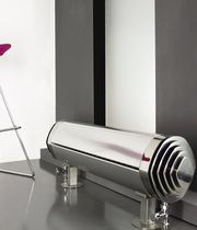stainless steel design hot water radiator TORPEDO Carisa Design Radiators