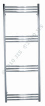 stainless steel dual energy towel radiator LEWES 1400  JIS Europe