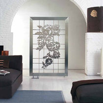 stainless steel electric towel radiator SCREEN by F.Lucarelli & B. Rapisarda SCIROCCO