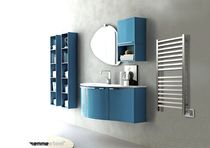 stainless steel electric towel radiator QUADRO  EMMESTEEL s.r.l.