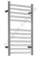 stainless steel electric towel radiator OUSE 400 JIS Europe