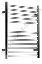 stainless steel electric towel radiator OUSE 520 JIS Europe